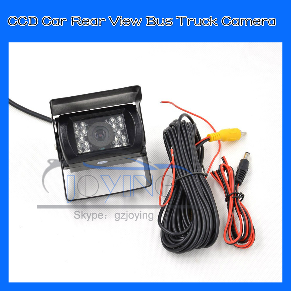 DHL 10 sets HD CCD 120 Degree IR Nightvision Waterproof Car parking Rear View Camera Bus Truck Camera For Bus & Truck(China (Mainland))