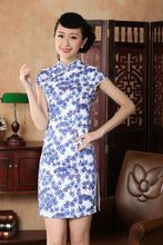 Buy Free Shipping!New Arrival Chinese Tradition Style Women's Mini Cheong-sam Dress S M L XL XXL ----SDR0040 for $21.89 in AliExpress store