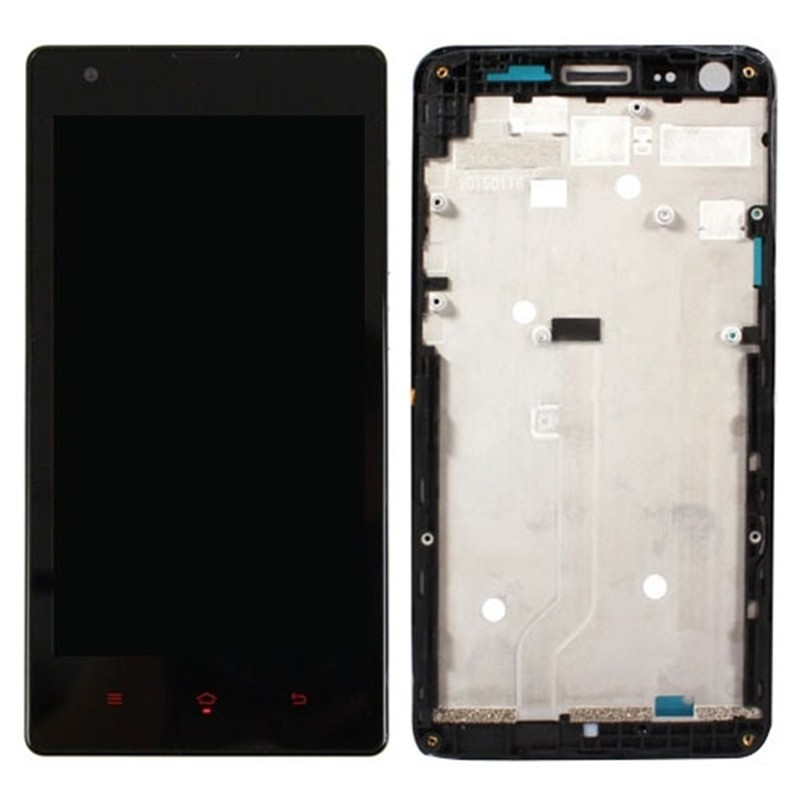 Original For Xiaomi Redmi 3G Version Front Frame Bezel Housing Cover LCD Screen Supporting Frame Faceplate Repair Spare Parts