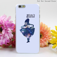 287QA Cubierta Para El Alice En De Las Hard Clear Transparent Cover iPhone 4 4S 5 5S SE 5c 6 6s Plus Phone Cases - No1 Not Second Store store