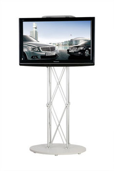 """Portable LCD / LED  TV stand / exibition product / trade show / 32"""" to 72"""" plasma or LCD television stand"""