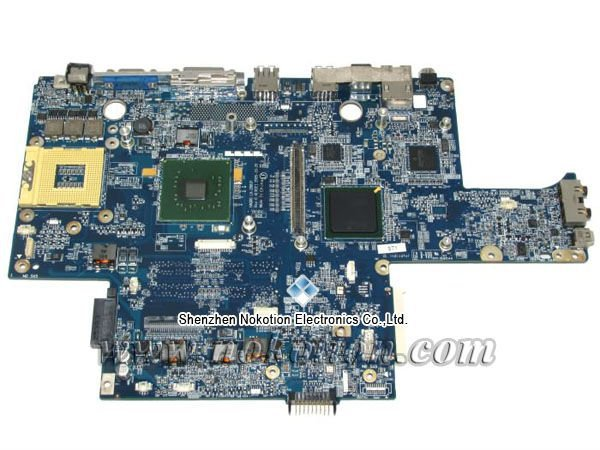 HAQ00 LA-2881P Laptop Motherboard for Dell XPS M1710 CF739 0CF739 nvidia video card DDR2 Mainboard full tested free shipping<br>