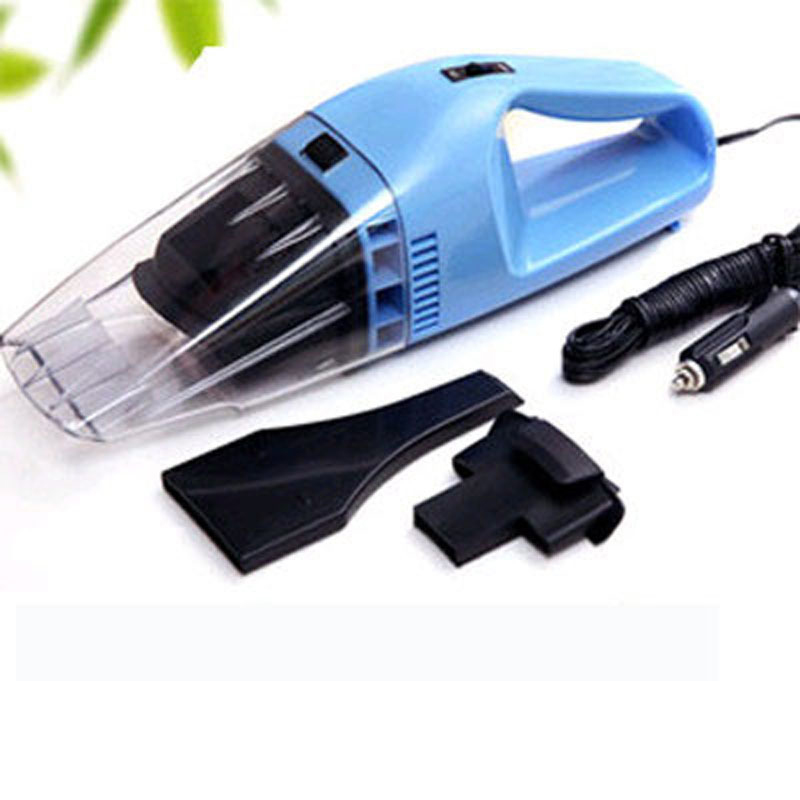 Free Shipping 12v Mini Portable Car Vehicle Auto Wet Dry Handheld Vacuum Cleaner Blue(China (Mainland))