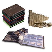 2016 Trendy Randomly 60 Openings Coins Album Coin Holder Pocket Album Book Collecting Money Penny Storage Portable Random Colors
