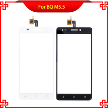 High Quality Touch Screen Digitizer Assembly For BQ Aquaris M5.5 BQ M5.5 12956 New Brand Mobile Phone Touch Panel Free Tools