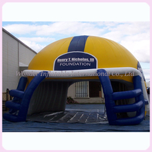 Buy 4M high helmet inflatable tunnel/inflatable football tunnel/inflatable tunnel tent for $990.00 in AliExpress store