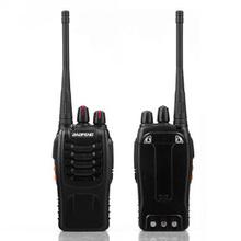 Baofeng BF-888S Walkie Talkie Two-way Radio Interphone UHF 5W 400-470MHz 16CH Free shippingFree Shipping