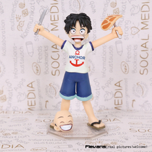 Buy Anime One Piece POP Monkey D Luffy Childhood ver. PVC Action Figure Collectible Model Toy 10cm OPFG466 for $10.07 in AliExpress store