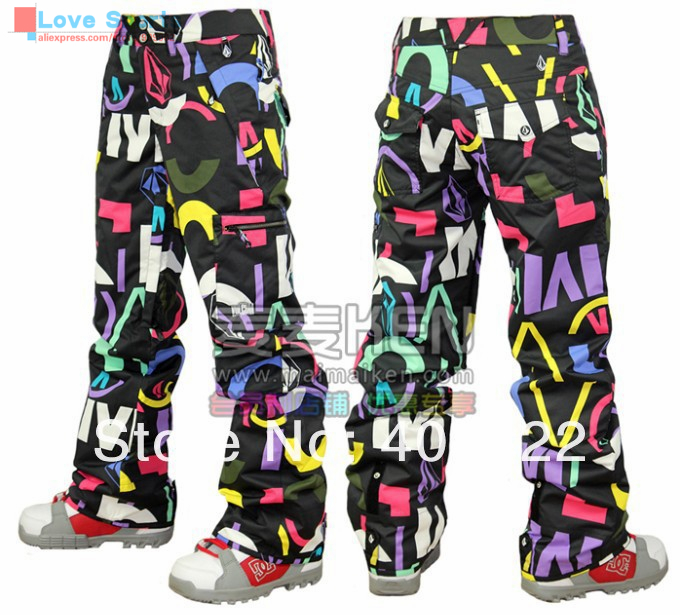 Newest High Quality Original Reliable Brand Different Color Snowboarding Pant Ski Pant for Women