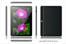 10 inch Quad Core 3G  android 4.4 Tablet PC 1280*800 Piex MTK8382 WCDMA 1GB 8GB 5MP GPS +bluetooth+FM+WIFI Phablet