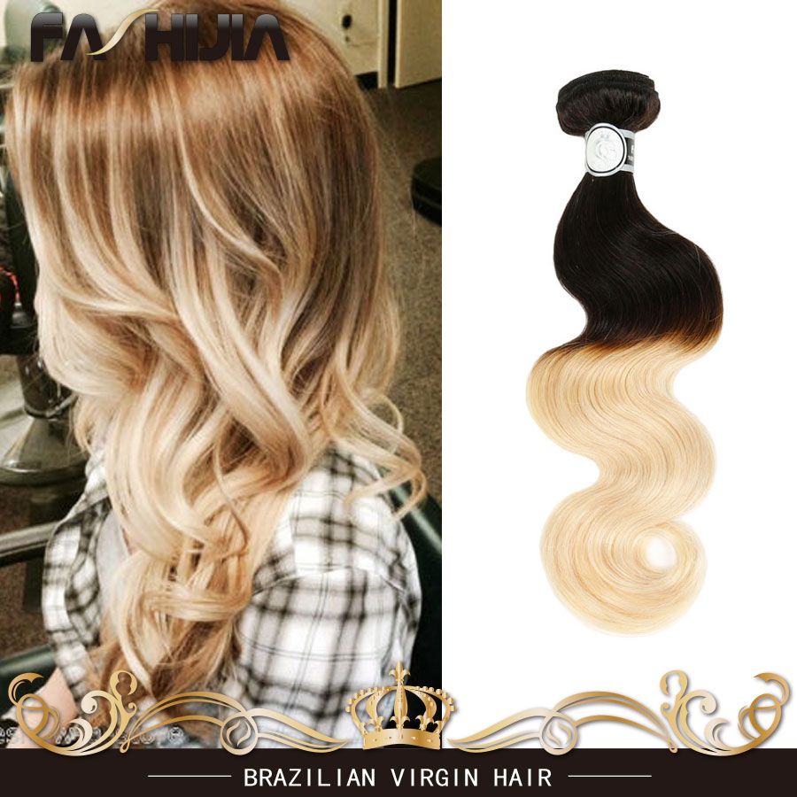 Stema Hair Brazilian Body Wave Ombre Human Hair Weave 1b613 Virgin Brazilian Hair Body Wave Blonde Weave Wet And Wavy Remy Hair<br><br>Aliexpress