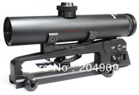 Vector Optics Tactical 4x22 Carry Handle Compact Rifle Scope Shock Proof Electro GunSight fit  M