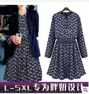 цена Женское платье 2015 , 5XL ZC002 онлайн в 2017 году