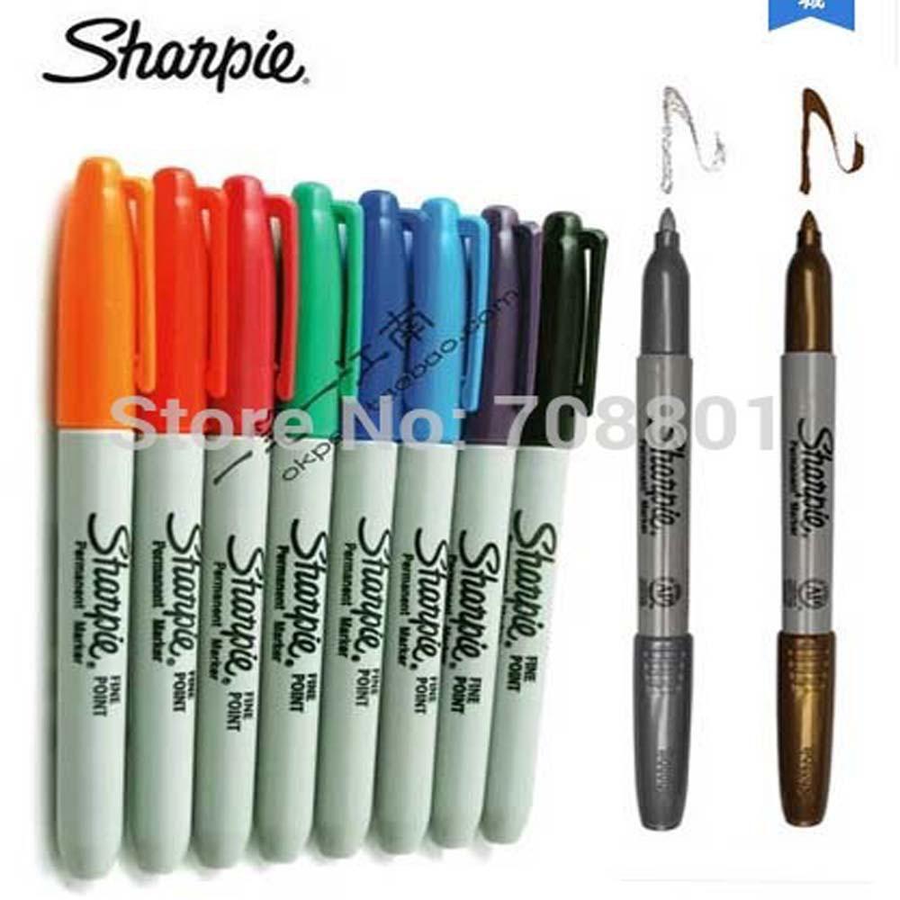 livraison gratuite 10 couleur am 233 ricaine sanford sharpie marqueurs permanents marqueur