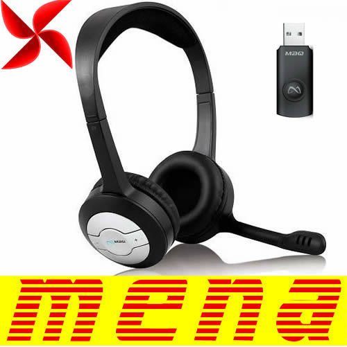 Somic PC-31 PC 31 2.4G Wireless Stereo MP3 Headphone Earphone Headset For PC Computer Audio Music Mic Microphone Chargeable PC31