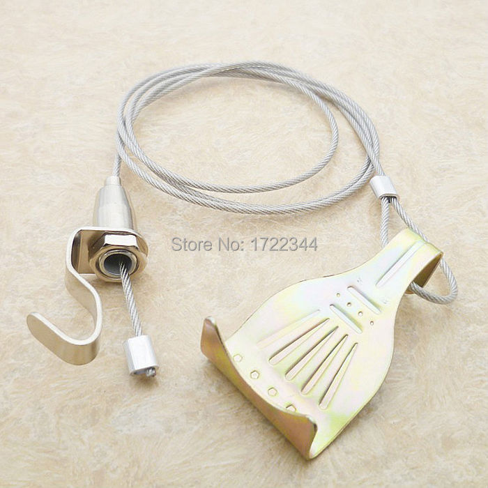 hook hanging picture stainless steel wire art Exhibition display part Paintings device DIY tool - Dolami Household store