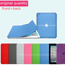 original style crystal back case+smart cover for apple ipad mini 4 case extra slim thin magnetic flip stand leather