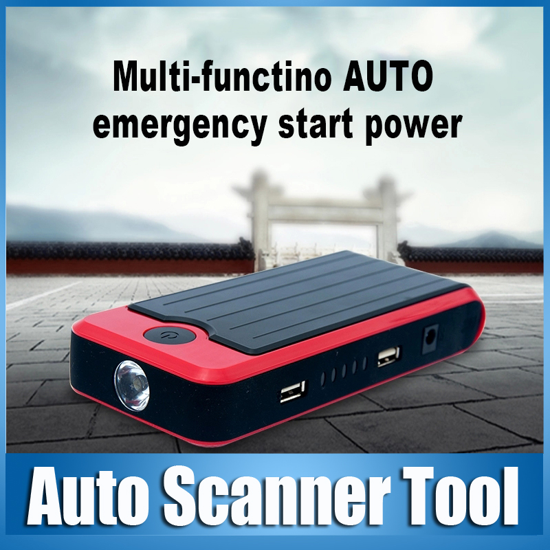 Hot Sale Car Jumper Starter 12000mAh Emergency Auto Power Bank 12000 mAh Led for Car / Digital Products ( Mobile Phones / Pad )(China (Mainland))