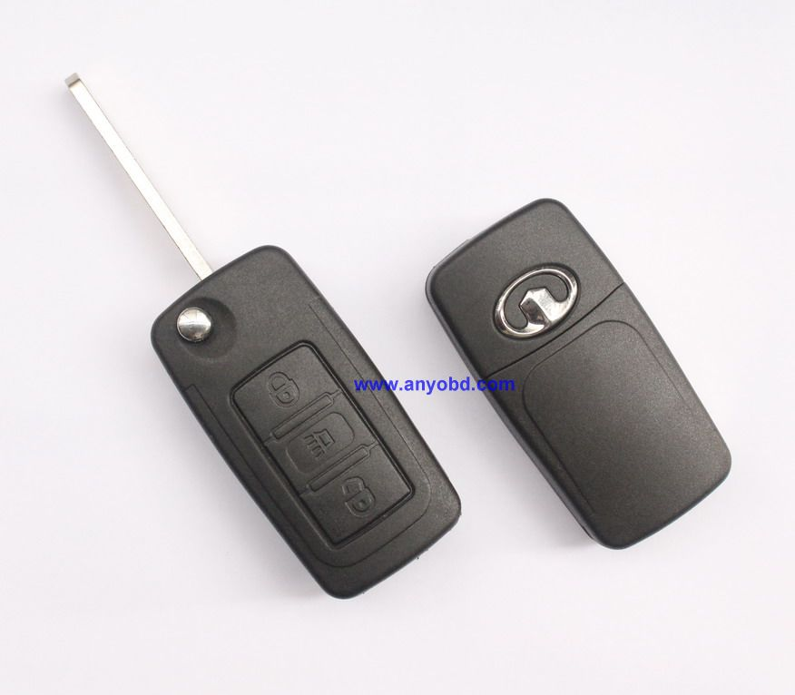 Great Wall Greatwall Haval H6 remote key 3 button control 433mhz(China (Mainland))