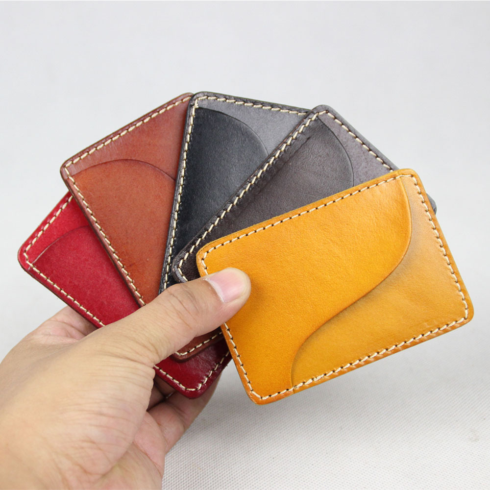 Original manual really pickup bag male and female simple card Baotou layer Kraft bus card package couple models(China (Mainland))