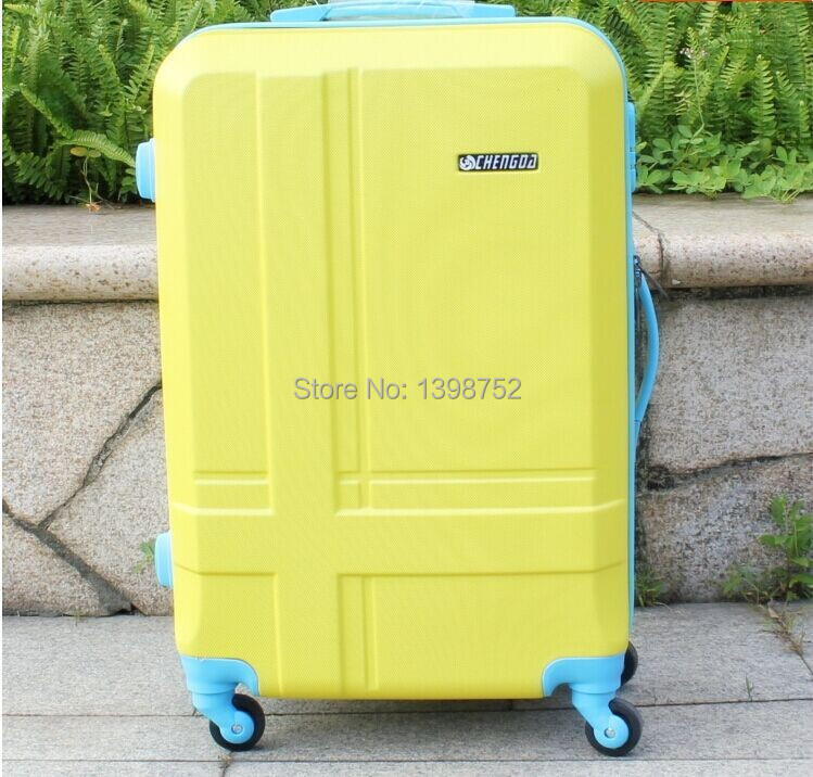 20 24 28,Inch New ABS Travel Bags Suitcase Hardside Luggage Universal Wheels Trolley Rolling Bag Mute ,Spinner wheel  -  Twins shop91 store