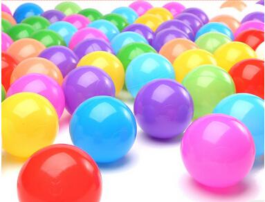 2016 New Design Plastic Bulk Ball Pools Game Toys Colorfull Pool Ball For Kids Play(China (Mainland))