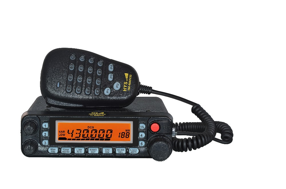 Top Sale 50W TC-MAUV33 Dual band Mobile Car Radio Transceiver With DTMF/1750Hz Encode Free shipping(China (Mainland))