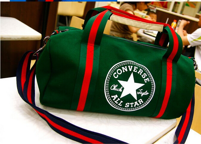 Drop Shipping 2015 Brand Designer High Quality Canvas Sport Bag Gym Bags,Fashion Sport Bag Women/Men Shoulder bag 529N(China (Mainland))