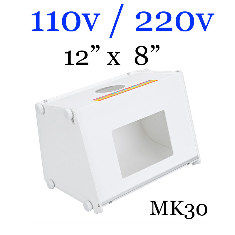 "5pcs/lot Sanoto 12"" x 8"" Mini Photo Studio Photography Box Softboxes 110v/220v MK30(China (Mainland))"