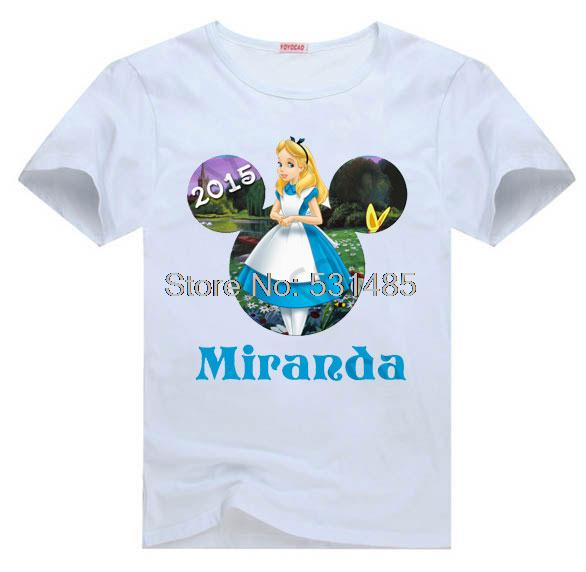 Popular birthday princess shirt buy cheap birthday for Personalized t shirts for kids cheap