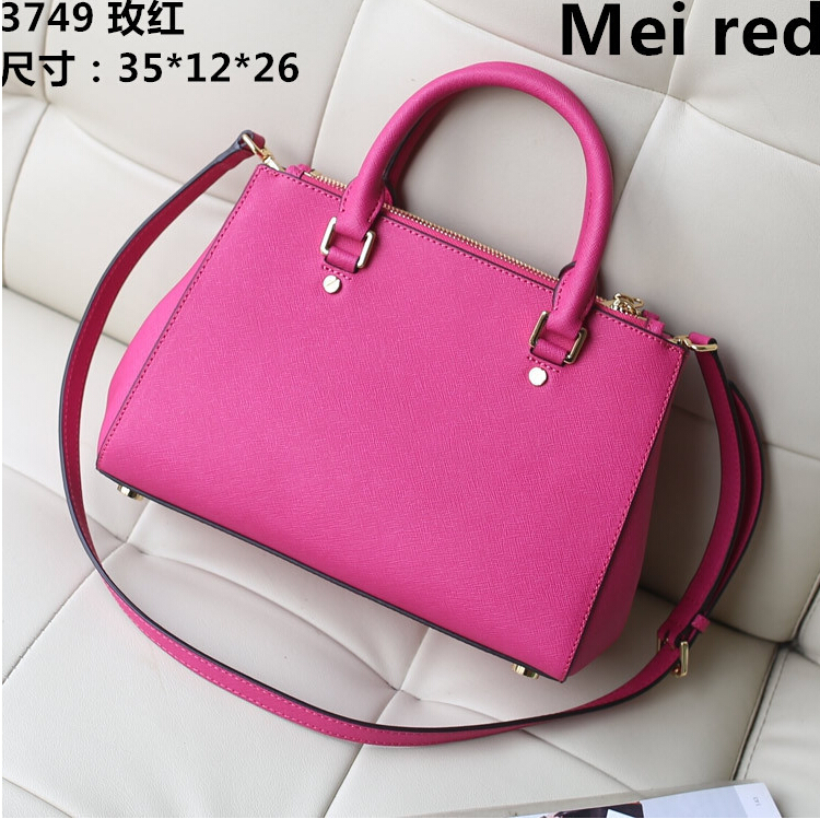 2015 PROMOTION women bag New Fashion Famous Designers Brand Michaeled handbags women bags PU LEATHER BAGS shoulder tote bags(China (Mainland))