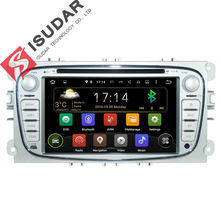 2 Din 7 Inch Android 5.1.1 Car DVD Player For FORD/Focus/Mondeo/S-MAX/C-MAX/Galaxy Multimedia Wifi GPS Navigation Radio FM(China (Mainland))