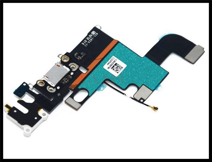 """2014 5pcs/lot Original Black /white Charging Port Connector for Audio Jack Flex Cable for Apple for Iphone 6 4.7"""" free Shipping(China (Mainland))"""