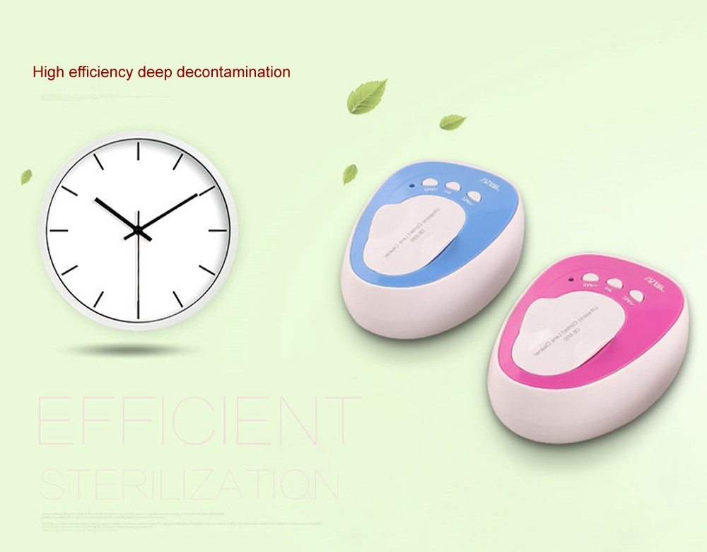 Mini 4ml contact lens Contact lenses box automatic cleaning ultra sonic cleaner myopia glasses USB Ultrasonic cleaning machine