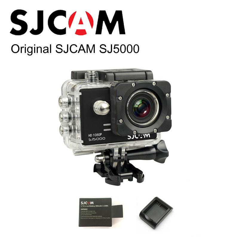 100% Original SJCAM brand SJ5000 Sport Action Camera 1080P Full HD 14MP CMOS Waterproof sj cam + Extra 1pcs Battery + charger(China (Mainland))