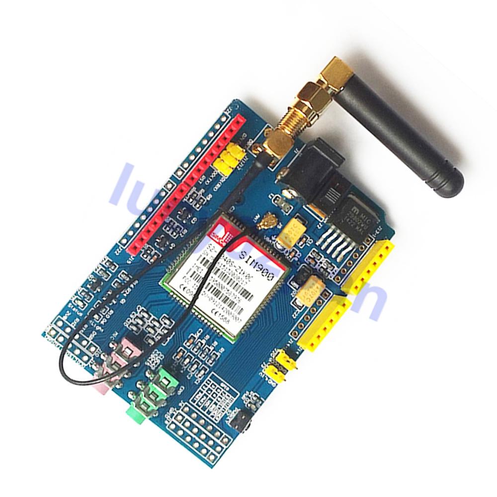 SIM900 GPRS/GSM Shield Development Board Quad-Band Module For Arduino Compatible GSM Module diy Kit SIM900 850/900/1800/1900 MHz(China (Mainland))