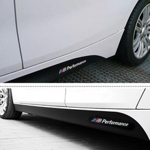 Buy Gloss Black 2.05/2.15/2.3M M SPORT M Performance BMW F30 F10 F01 3/5 Series 320i 520i E60 Side Skirt Stickers Decals for $25.99 in AliExpress store