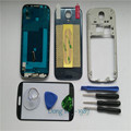Blue Housing Case For Samsung Galaxy S4 i9505 Replacement Full Housing Cover Case Screen Glass Lens