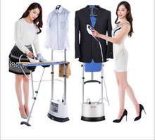 2016 new multifunctional double pole hanging ironing machine steam iron flat hot hand hanging mini electric(China (Mainland))