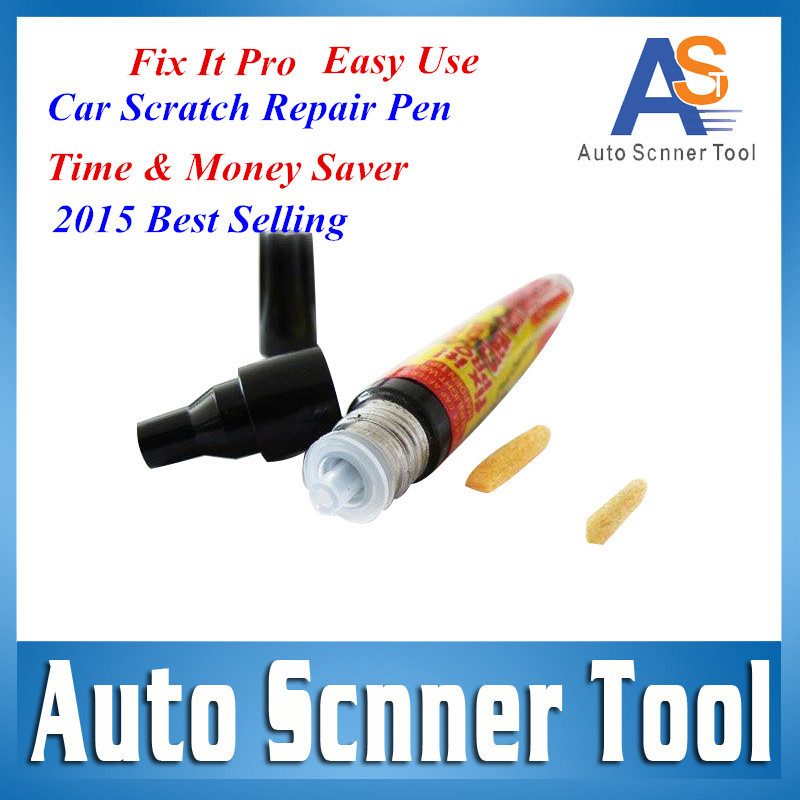 2016 Best Selling Car Scratch Repair Pen Easy Use Time & Money Saver Car Remover Fix It Pen From SIMONIZ Repairing AS SEEN ON TV(China (Mainland))