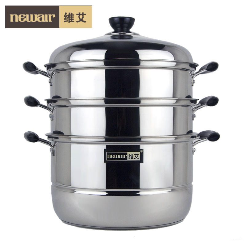 Cooking Pot Steamer ~ Free shipping cm food steamer stainless steel