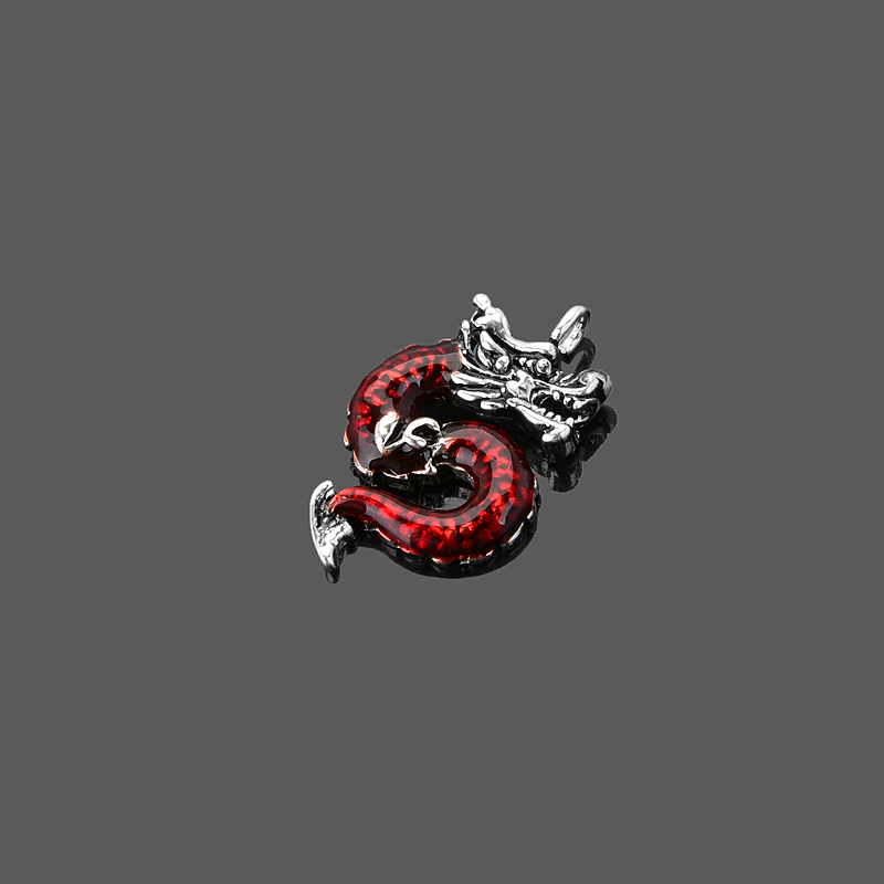 Red Dragon Charm,Thomas Style Charm Club Good Jewelry For Lover,2015 Ts Pendant Gift In 925 Sterling Silver Fit Bag,Super Deals(China (Mainland))