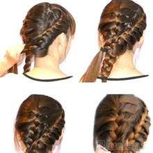 Fashion Hair Braiding Braider Tool Roller With Magic hair Twist Styling Bun Maker 1DQ3