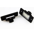 free shipping a pair 18 SMD LED License Plate Light Lamp For Volkswagen VW Touareg Euopean