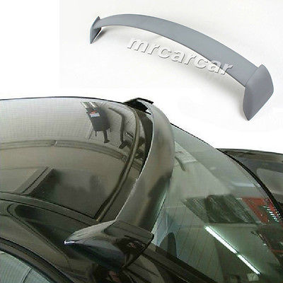 Unpainted Grey Primer FRP S Style Roof Spoiler, Car Window Spoiler Wings Fit For Impreza WRX 02-09(China (Mainland))