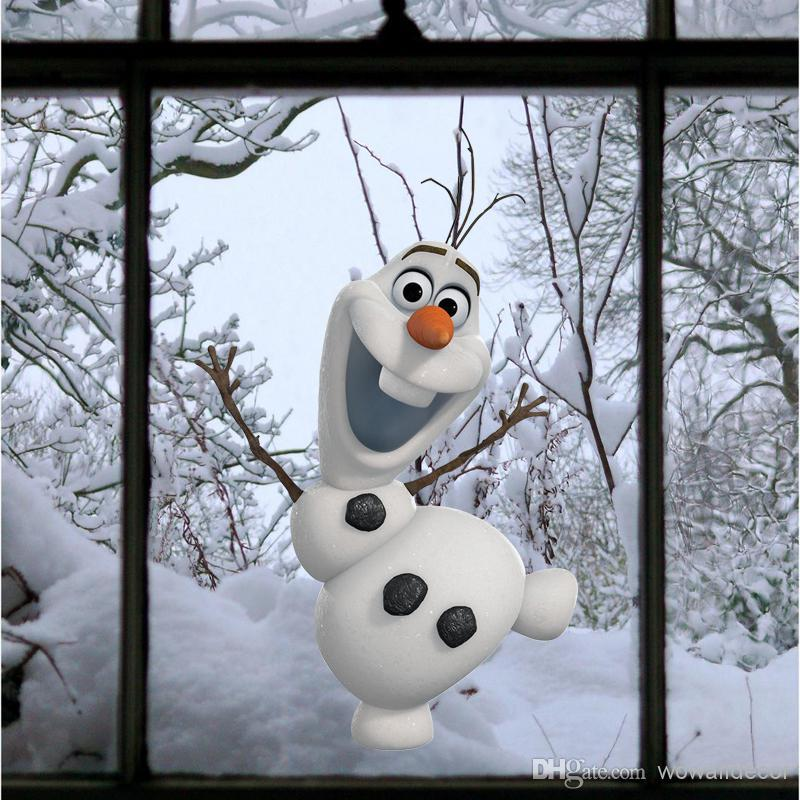 Frozen Wall Decor Kit : Christmas vinyl wall art picture more detailed