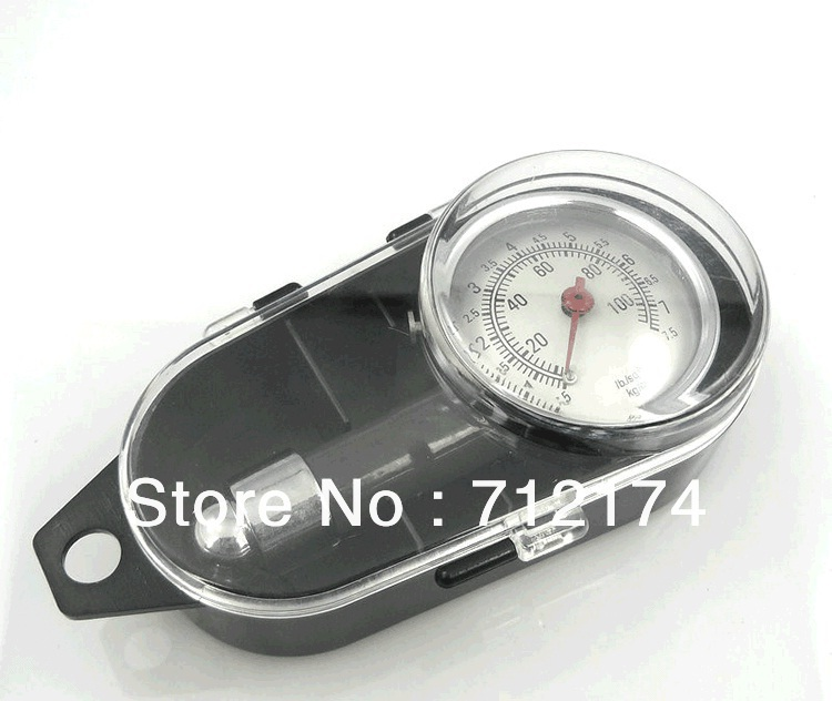 Metal Car tire pressure table motorcycle tire pressure gauge tyre pressure gauge air gauge high precision(China (Mainland))