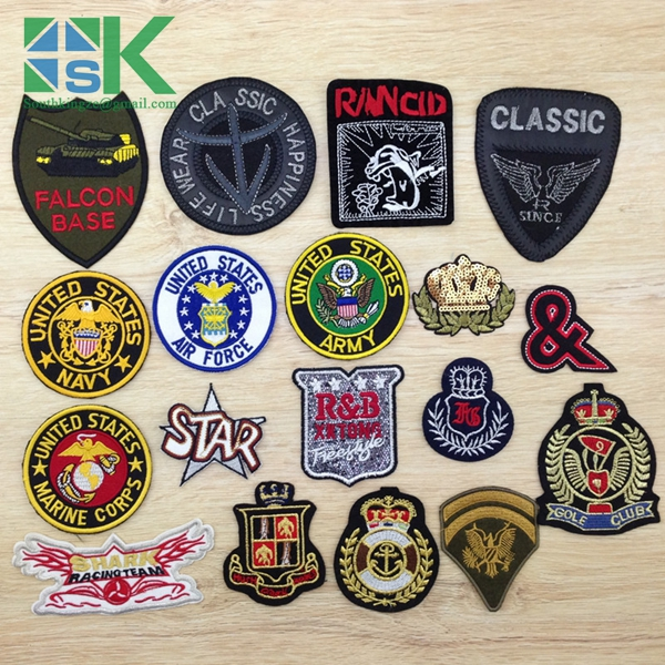 2016 Newest design 1 PCS United States Army Badges For DIY Cloth Patches Felt Fashion Embroidery Logo Stick On Label(China (Mainland))