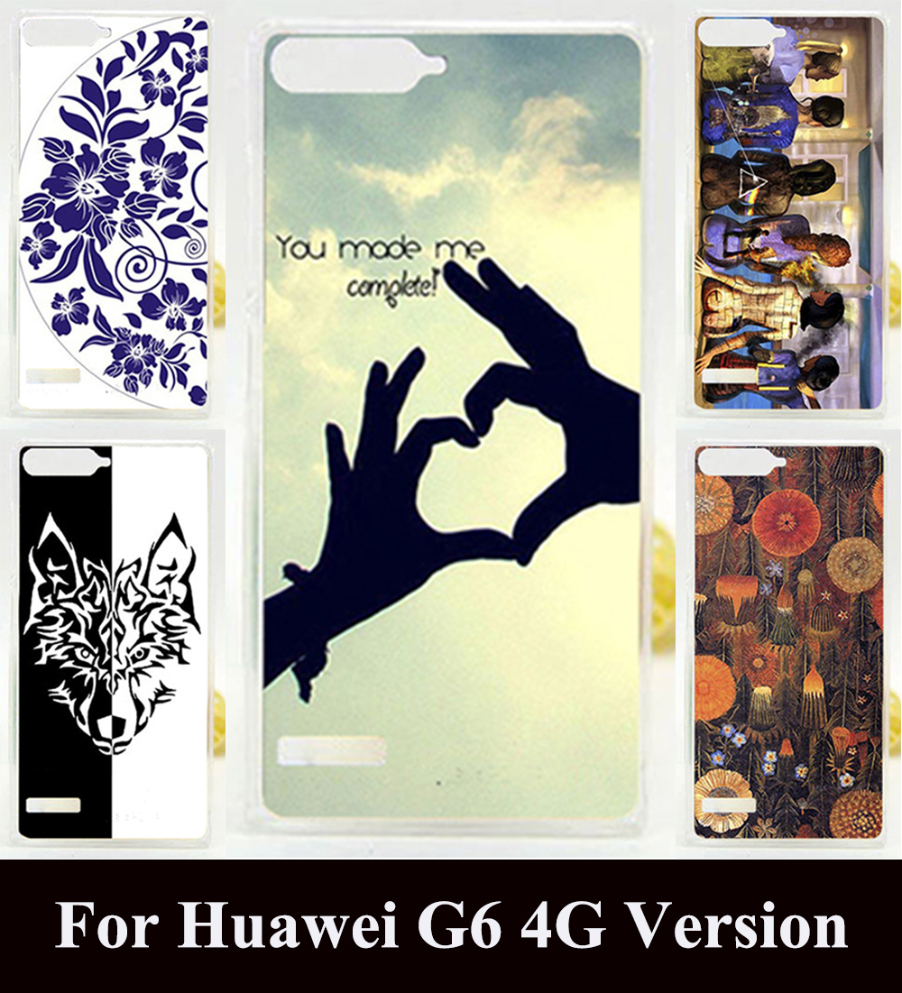 """DIY Printing Case for Huawei Ascend G6 4G LTE G6-L11 P7 Mini 4.5""""Plastic Back Cover Shell Skin Protective Mobile Phone Hard Case(China (Mainland))"""