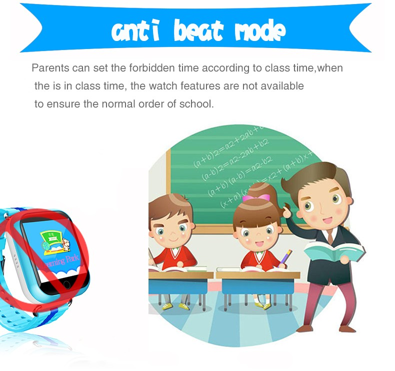 image for GPS Smart Watch Q750 Q100 Baby Watch With Wifi Touch Screen SOS Call L
